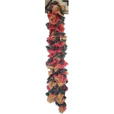 Candy Twirl Scarf - Tequila Sunrise