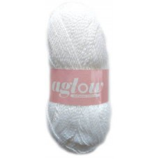 Aglow, Double knit - White