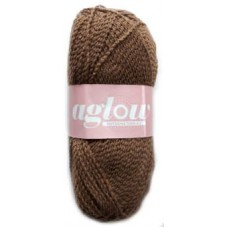 Aglow, Double knit - Brown