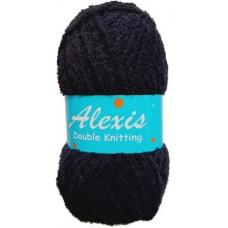 Alexis, Double Knit - Black