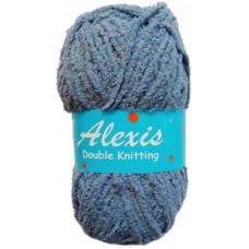 Alexis, Double Knit - Denim