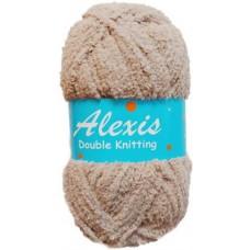 Alexis, Double Knit - Khaki Brown
