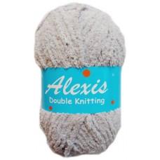 Alexis, Double Knit - Light Grey