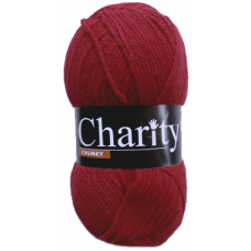 Charity, Chunky - Cherry Red