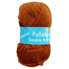 Classic Pullskein, Double Knitting - Dark Tan